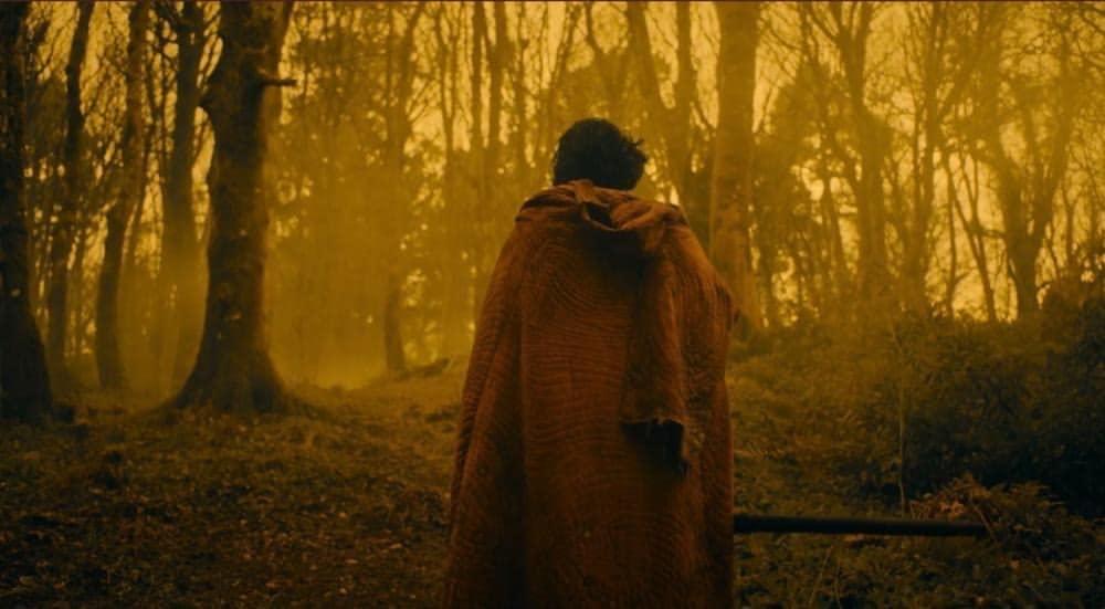 Sir Gawain in het bos