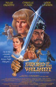 Heer Gawain en de Groene Ridder – Sword of the Valiant - Poster