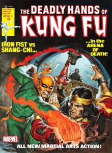 The Deadly Hands of Kung Fu 29 - Iron Fist versus Shang-Chi