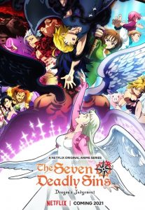 Heer Gawain en de Groene Ridder – The Seven Deadly Sins - Netflix poster