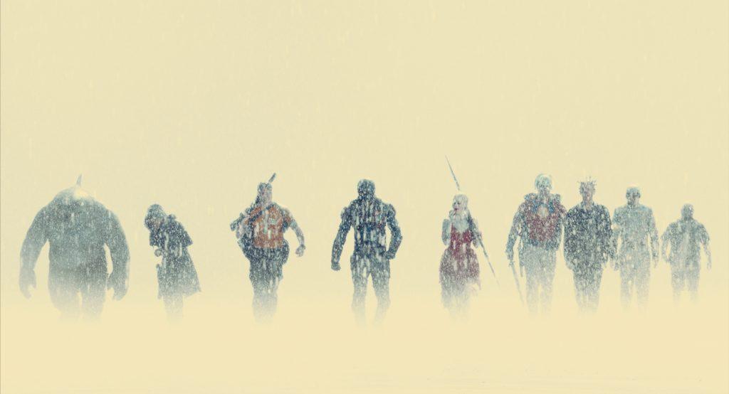 The Squad in de sneeuw