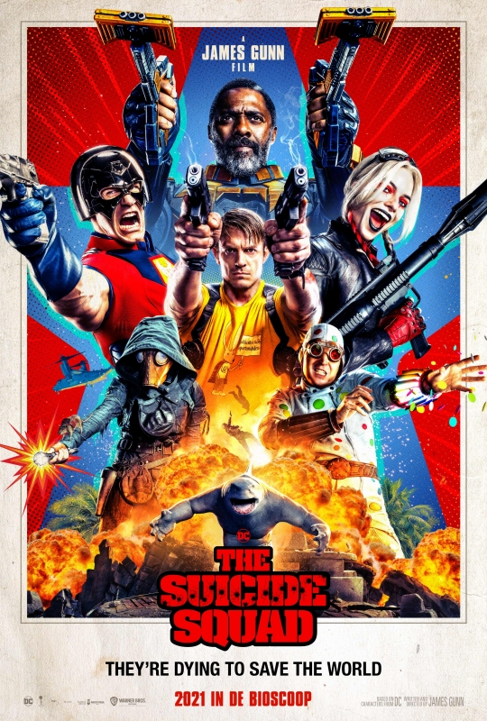 The Suicide Squad recensie - Poster