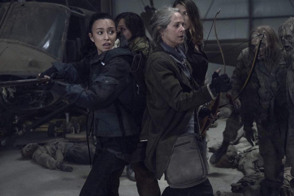 The Walking Dead seizoen 11 recensie - Melissa McBride als Carol