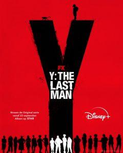 Y The Last Man poster - Disney+