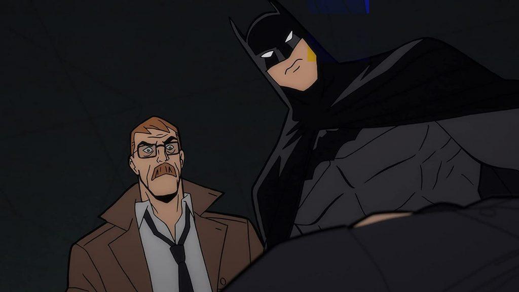 Billy Burke als Gordon en Jensen Ackles als Batman