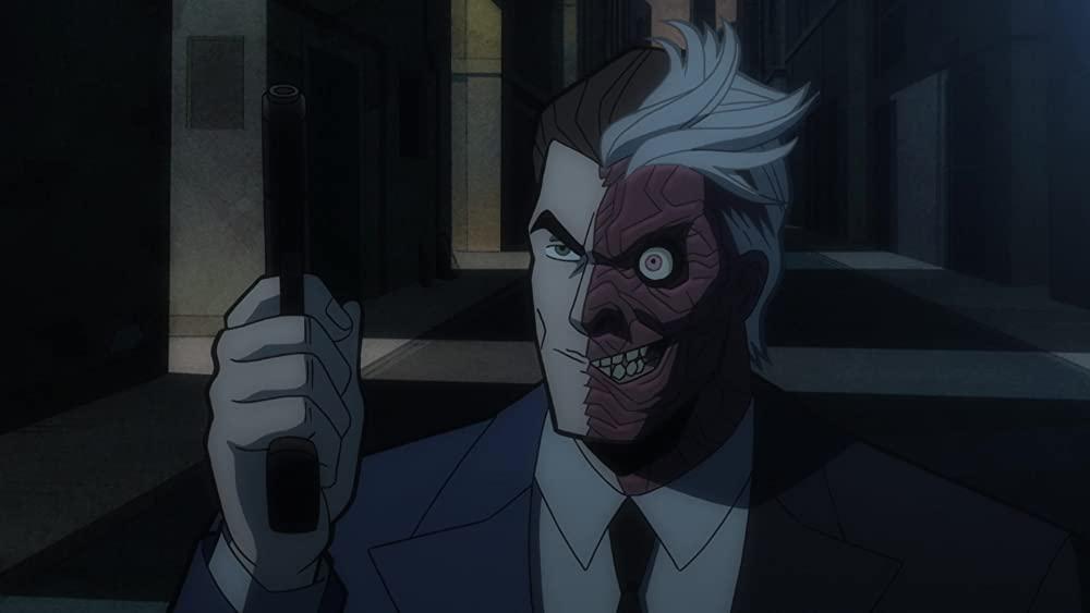 Josh Duhamel als Two-Face in Batman The Long Halloween Part Two