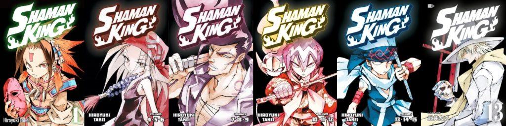 Shaman King Omnibus Vol 1 - 6