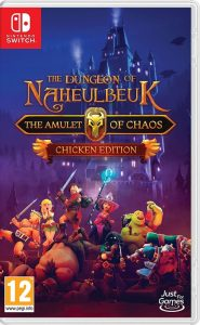 The Dungeon of Naheulbeuk: The Amulet of Chaos - Nintendo Switch packshot