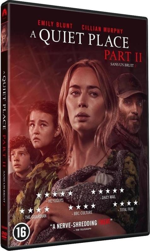 A Quiet Place Part II dvd winactie - dvd packshot