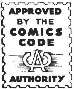 Comics Code Authority logo