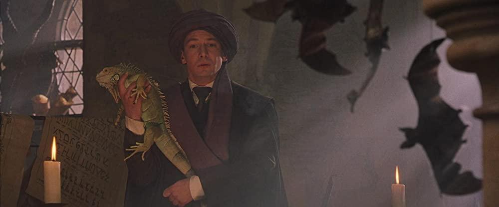Ian Hart als Professor Quirrell