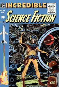 Sciencefiction en het stripverhaal - Incredible Science Fiction 33
