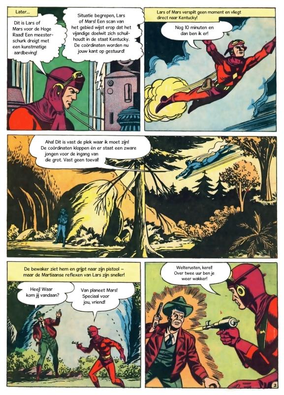 Lars of Mars - De Aardbever - Science Fiction Comics 59
