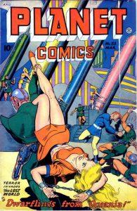 Sciencefiction en het stripverhaal - Planet Comics 53 - 1948