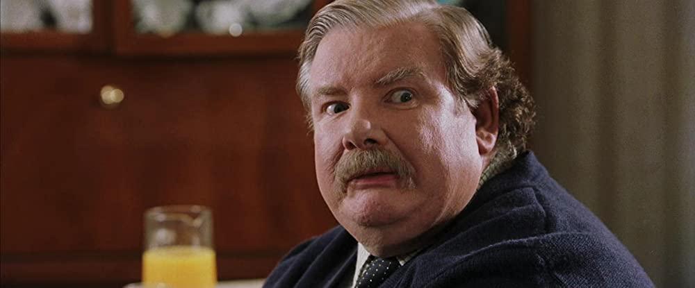 Richard Griffiths als oom Vernon Dursley