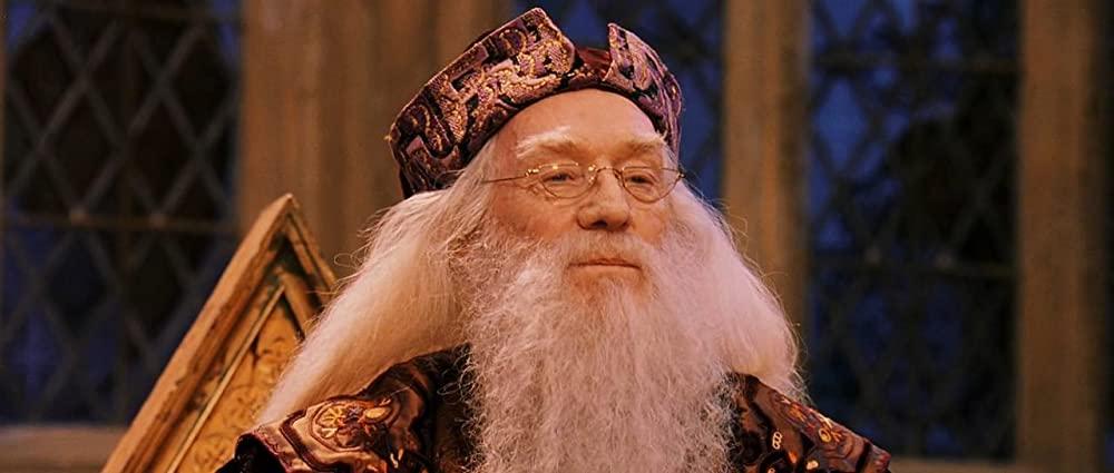 Richard Harris als Albus Dumbledore