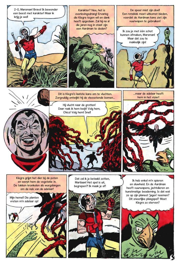 Run Martian, Run - Science Fiction Comics
