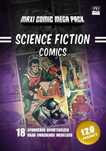 Science Fiction Comics - Peter Pan Comics cover