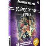 Science Fiction Comics - Peter Pan Comics cover 3D