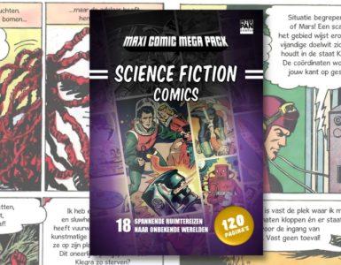 Sciencefiction en het stripverhaal openingsbeeld - Modern Myths