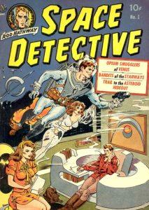 Sciencefiction en het stripverhaal - Space Detective 1 - 1951