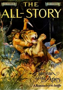 Tarzan of the Apes - Edgar Rice Burroughs - The All-Story Magazine 1912